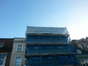 Natwest, Dorking - Temp Roof