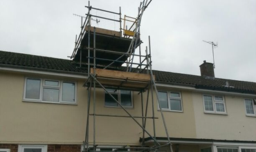 Residential Chimney Stack