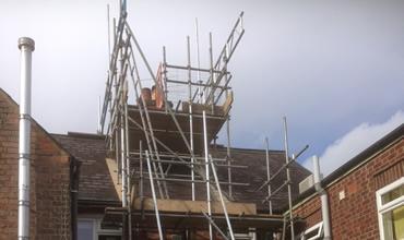 York House - Chimney Stack Hanger Front